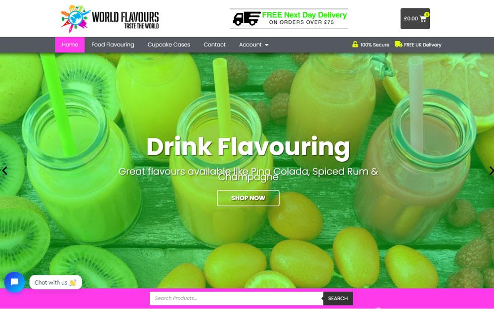 World Flavours Online